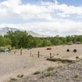 Group tent area.- Coronado Campground