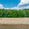 Sandbars and beaches along the Saco River provide a great place to stretch your legs, eat lunch, and look for wildlife. - Saco River: North Conway to Conway