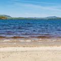 Beach at Umbagog Lake. - Umbagog Lake State Park