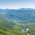 Overlooking Crawford Notch from Mount Willard.- Crawford Notch State Park