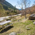 Roadside picnic area in Crawford Notch State Park. - Crawford Notch State Park