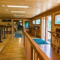 Inside you can purchase tickets, visit the gift shop or snack bar, and use the restrooms.- Lost River Gorge + Boulder Caves