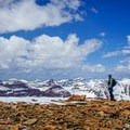Summit view.- Gunsight Peak