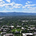 The University of Montana.- Missoula's M Trail