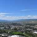 Downtown Missoula.- Missoula's M Trail