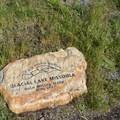 Glacial Lake Missoula marker.- Mount Sentinel