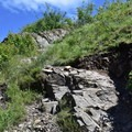 Steep rocky section of the hike.- Mount Sentinel