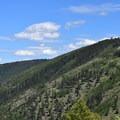 Looking back toward University Mountain.- Mount Sentinel