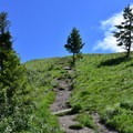 Very steep part of the trail.- Mount Sentinel