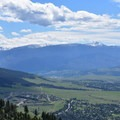 Lolo Peak in the distance.- Mount Sentinel