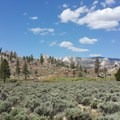 Views from the Pacific Crest Trail into the Domeland Wilderness.- Domeland Wilderness via Pacific Crest Trail