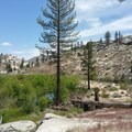Domeland Wilderness from the Pacific Crest Trail.- Domeland Wilderness via Pacific Crest Trail