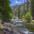 Kern River.- Jordan Hot Springs via Blackrock Trailhead