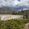 Soda Flats.- Jordan Hot Springs via Blackrock Trailhead