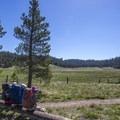 Casa Vieja Meadow.- Jordan Hot Springs via Blackrock Trailhead