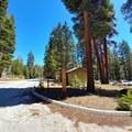 Parking lot.- Jordan Hot Springs via Blackrock Trailhead
