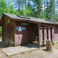 Restrooms in the campground loop.- Jigger Johnson Campground