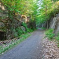 Small rocky gorge.- Northern Recreational Rail Trail