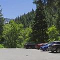 Upper lot.- Bowman Fork Trail
