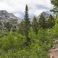 Hiking the Silver Lake Trail.- Silver Lake Trail