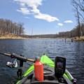Looking toward a small bay.- Beers Lake