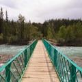 Crossing the Siffleur River.- Siffleur Falls