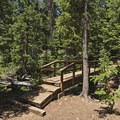Small bridge crossing Shingle Creek. - Shingle Creek Trail