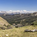 The beautiful mountains of southern Colorado..- Lobo Pass Trail + Continental Divide Trail