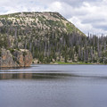 There are some great cliff jumping opportunities here.- Island Lake Hike