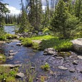 Hiking the Clyde Lake Trail. - Clyde Lake Trail