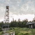 The Pillsbury Mountain Fire Tower.- Pillsbury Mountain Fire Tower