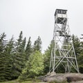 The Owl's Head Fire Tower.- Owl's Head Fire Tower