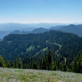 View from the summit of Horsepasture Mountain. - Horsepasture Mountain Trail