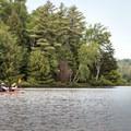 Kayakers on Rollins Pond.- Rollins Pond Loop