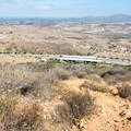 The view to the north from Glider Port Trail.- Glider Port Trail to Black Mountain