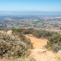 View to the west from the summit.- Glider Port Trail to Black Mountain