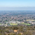View to the southwest from the peak.- Glider Port Trail to Black Mountain
