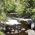 The dam outflow.- Deer River Flow