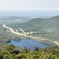 Butternut Pond to the north.- Poke-O-Moonshine Fire Tower
