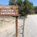 Welcome to Lake View Campground.- Lake View Campground