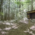 Pharaoh Mountain registration box.- Pharoah Mountain