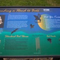 The park has informative signs about bats and has special boxes to house bats.- Cowans Gap State Park