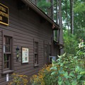 The park's nature center features native plants and multiple bird feeders.- Cowans Gap State Park