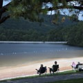 There's a 500-foot sand beach and roped swimming area.- Cowans Gap State Park
