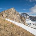 South and North Arapaho peaks.- South Arapaho Peak