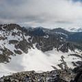 Looking north toward Longs Peak.- South Arapaho Peak