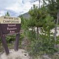 Arapaho Bay: Moraine Loop Campground.- Arapaho Bay: Moraine Loop Campground