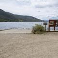 Boat ramp access to Lake Granby at Arapaho Bay: Roaring Fork Campground.- Arapaho Bay: Roaring Fork Campground