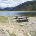 Double campsite at Arapaho Bay: Roaring Fork Campground.- Arapaho Bay: Roaring Fork Campground