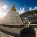 Namche Bazaar is a large settlement with plenty of lodging, restaurants, cafes, and gear shops. - Everest Base Camp (EBC) Overview